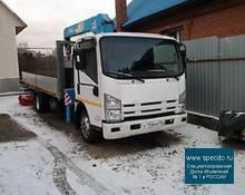 Услуги, заказ кран- манипулятора (самогруз). 5 тонник. Новосибирск.
