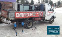 Услуги, аренда Компрессора по Томску и Северску