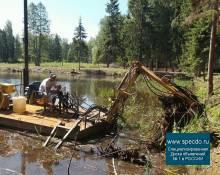 Очистка прудов - комплекс услуг по очистке водоёмов