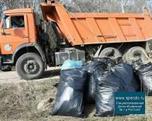 Уборка и вывоз мусора самосвалом в Нижнем Новгороде