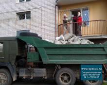 Вывоз строительного мусора Камаз с грузчиками заказать в Нижнем Новгороде