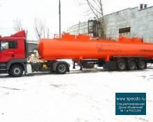 Полуприцеп-цистерна бензовоз ППЦ 96681-28
