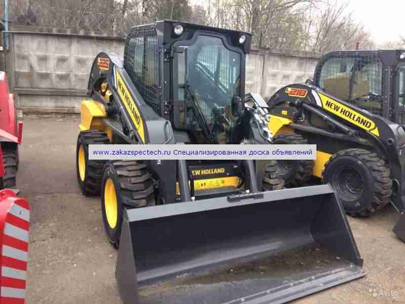 Мини-погрузчик New Holland L225, в наличии