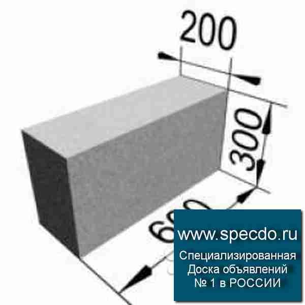 размеры блоков пгс
